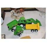 Toy Tractor & Equipment