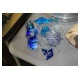 Lot of Glass Decorative Sea Animals