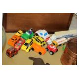 Lot of Toy Vehicles