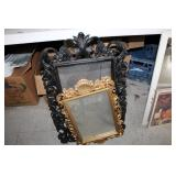 2 Framed Mirrors