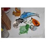 Lot of Decorative Glass Animals