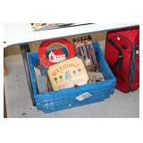 Tote of Wooden Decor