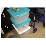 Clear Tote with Lidx 3