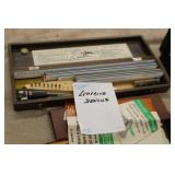Lot of Lettering Stencils & Guide