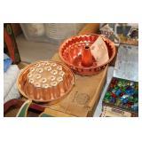Copper Baking Molds