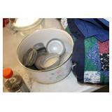 Bowl of Zinc Jar Lids