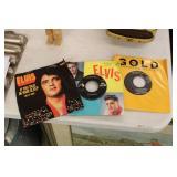 3 Elvis 45 RPM Records