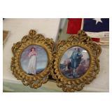 Pink & Blue Boy Framed  Prints