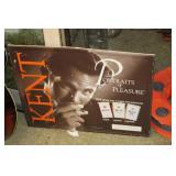 Kent Metal Advertising Sign