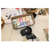Canon Camera & Various Playing Cards