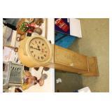 "Decorative Clock Cabinet, 46"" Tall"