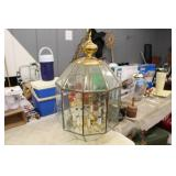 Large Glass Covered Light Fixture