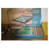 Vintage Match Box Traffic Game