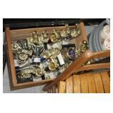 Crate of Various Trophies