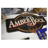 Amber Rock Metal Sign 23x36