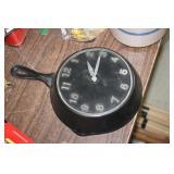 Cast Iron Skillet Clock