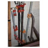 Lot of Wood Working Clamps
