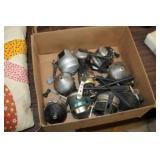 Box of Fishing Reels