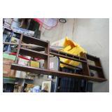 """Wooden Hanging Shelf,48"""" tall"""