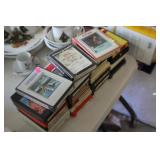 Lot of 8 Track Tapes