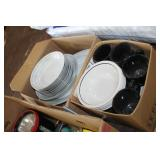 2 Boxes of Dishes