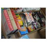 Lot of Office Supplies,Crayons,etc