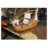 Small Wooden Pirate Ship