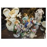 Lot of  Decorative Figures