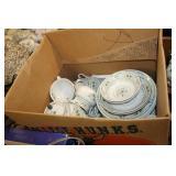 Box of Royal Doulton Dishes