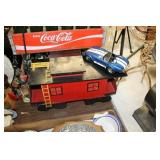 Decorative Wooden Train Car & Car