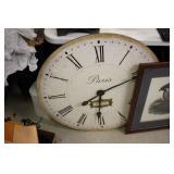"""31"""" Round Clock"""