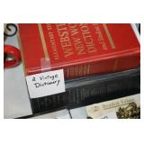 2 Vintage Dictionarys