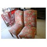 Cushioned Chair x 2