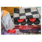 Checkers,Scrabble & Phone