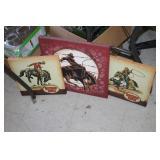 3 Western Canvas Prints