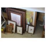 Lot of Framed Prints