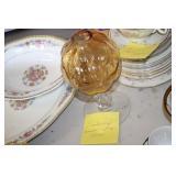 Cambridge Amber Ivey Vase