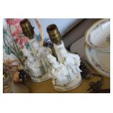 2 George & Martha Style Lamps