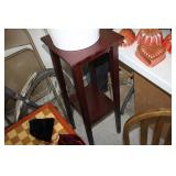 """Occasional Table,36"""" Tall"""