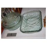 2 Glass Baking Dishes
