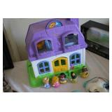 Fisher Price Toy House & Figures