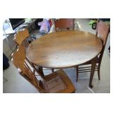 Dining Table with 4 Chairs,48x30 tall