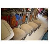 Metal Base Chair x 4