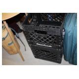 2 Plastic Crates