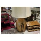 Colonial Soldier Lamp
