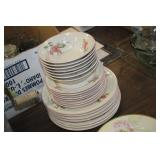 Lot of Gibson Dishes