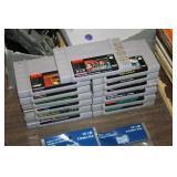 Lot of Super Nintendo Games