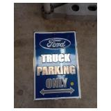FORD PARKING SIGN