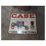 CASE TRACTOR SIGN