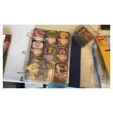 FOLDER & CASE OF DRAGON BALL Z CARDS